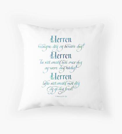 Velsignelsen Throw Pillow