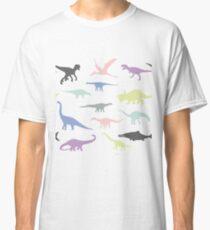 Colorful dinosaurus Classic T-Shirt