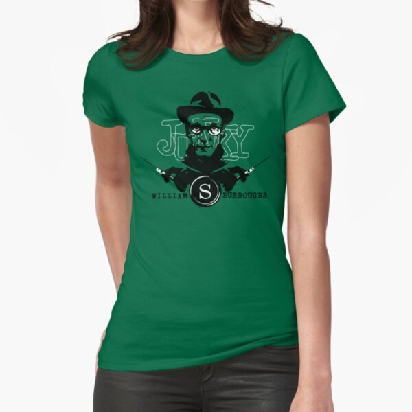 William S Burroughs revisted Fitted T-Shirt