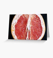 Grapefruit  Greeting Card