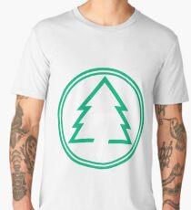 Sugar Pine 7 Logo Black Men's Premium T-Shirt