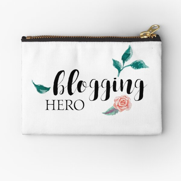 Blogging Hero Zipper Pouch