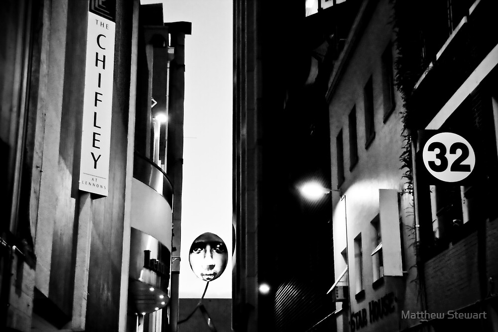 The Man In The Alley #2 by Matthew Stewart