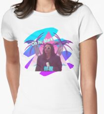 Vaporwave The Room  Women's Fitted T-Shirt