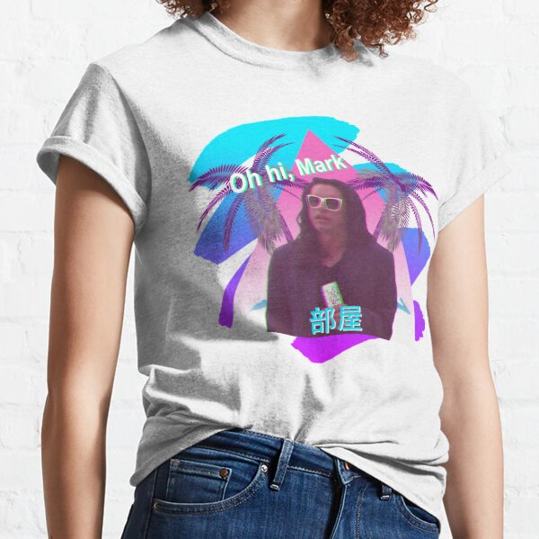 Vaporwave The Room  Classic T-Shirt