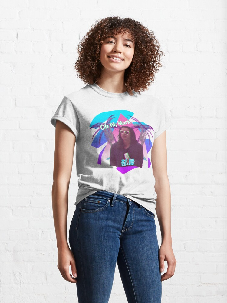 Alternate view of Vaporwave The Room  Classic T-Shirt