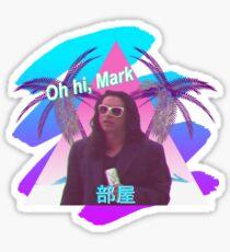 Vaporwave The Room  Sticker