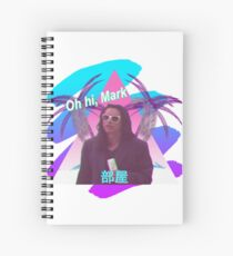 Vaporwave The Room  Spiral Notebook