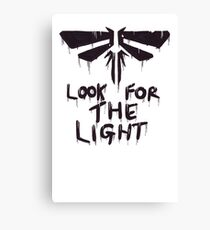 The Last Of Us: Look for the light Canvas Print
