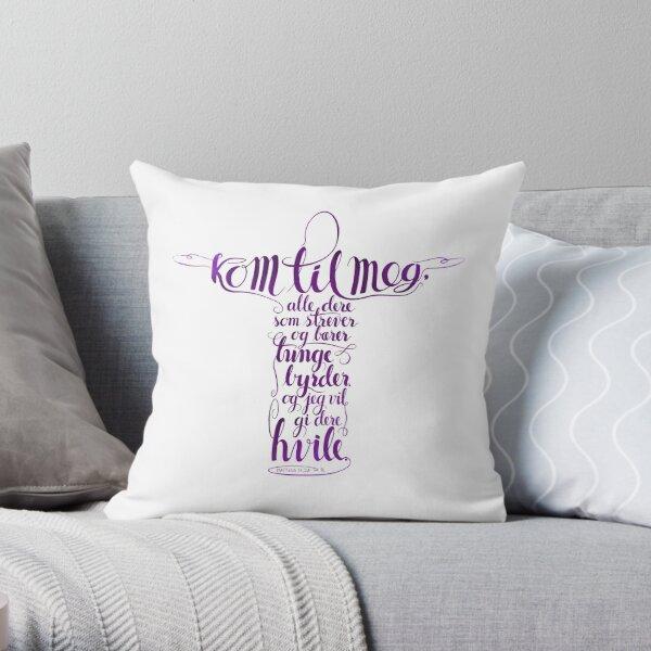 Kom til meg Throw Pillow