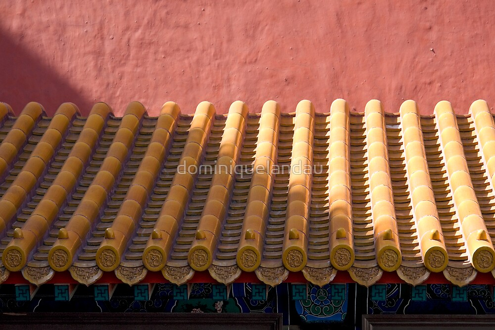 chinese roof by dominiquelandau