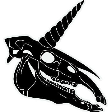 Unicorn Skull by orkki