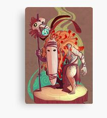 Forest Soothsayer Canvas Print