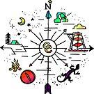 Camp Classen Compass by Stxradley