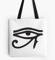 Eye of Horus White Tote Bag