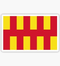Northumberland flag Sticker