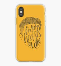 Fix Your Hearts or Die Alternate iPhone Case