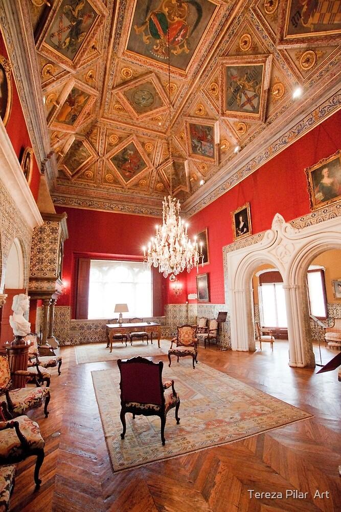 Palácio dos Condes Castro Guimarães. by terezadelpilar ~ art & architecture