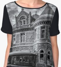 Old Post Office and Court House Women's Chiffon Top