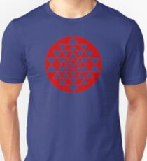 Sri Yantra Navy T-Shirt