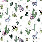 Cacti Llamas by Shopzoki