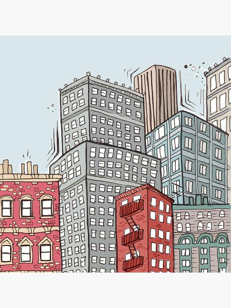 New York iconic view by mirunasfia
