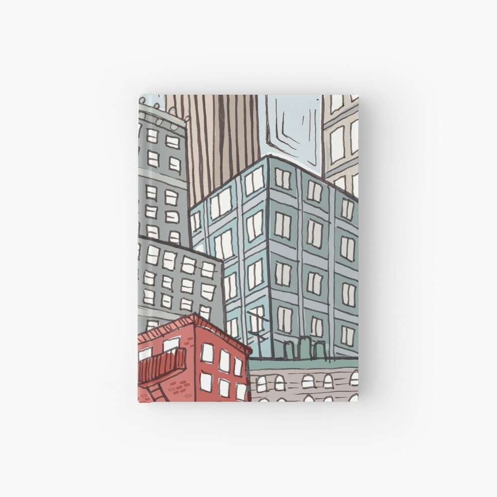 New York iconic view Hardcover Journal