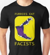 Furries Eat Facists Alt Color T-Shirt