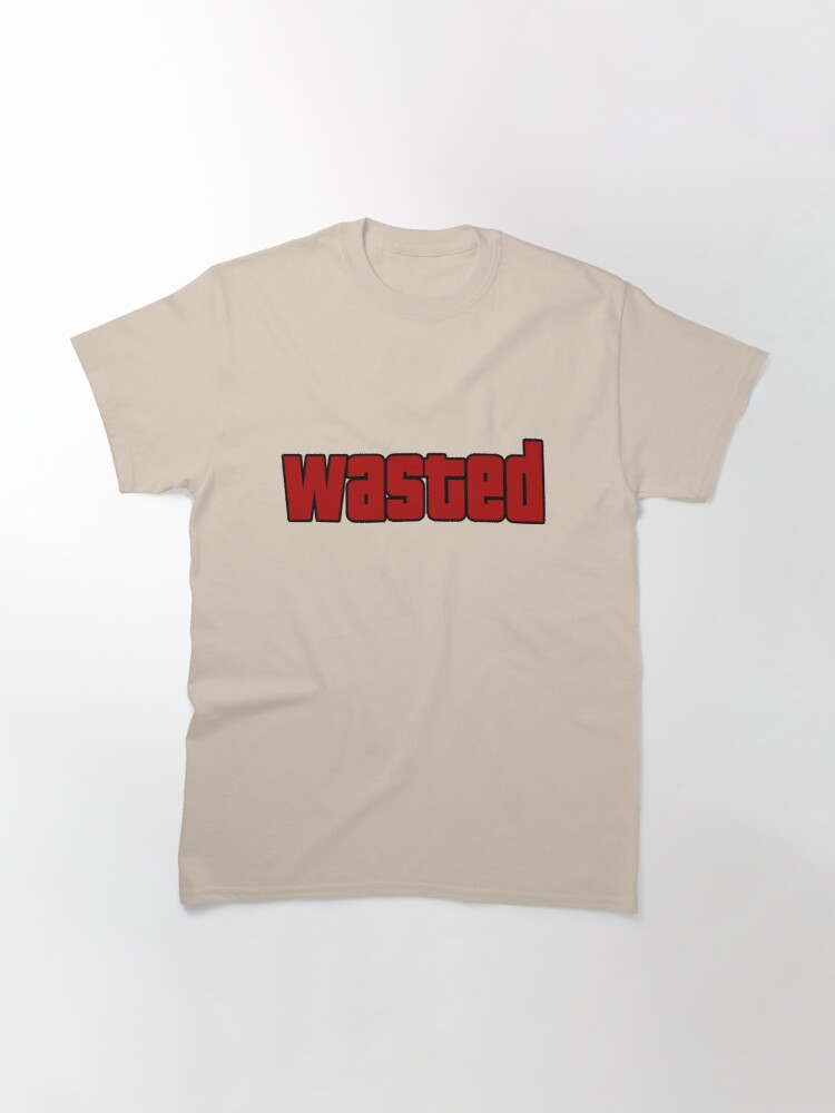 Alternate view of Wasted Classic T-Shirt