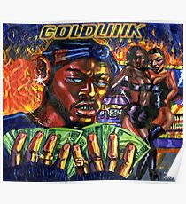 GoldLink - At What Cost Poster