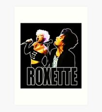 Roxette - 1989 Live on Stage. Stunning desing! Art Print