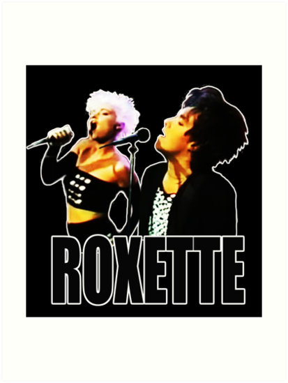 HD. Roxette - 1989 Live on Stage. Stunning desing! by mindthecherry