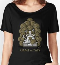 GAME OF CATS Women's Relaxed Fit T-Shirt