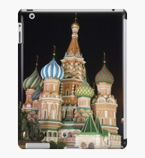 Red Square, Kremlin, Moscow at night  iPad Case/Skin