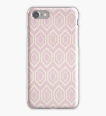 Pink Rug Geometric Pattern | Texture #home #lifestyle iPhone Case/Skin