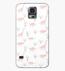 Pink Dinosaurs Case/Skin for Samsung Galaxy