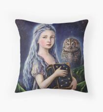 Heart Of The Night Throw Pillow