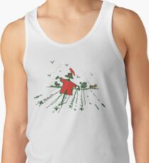 red scarecrow red crow Tank Top