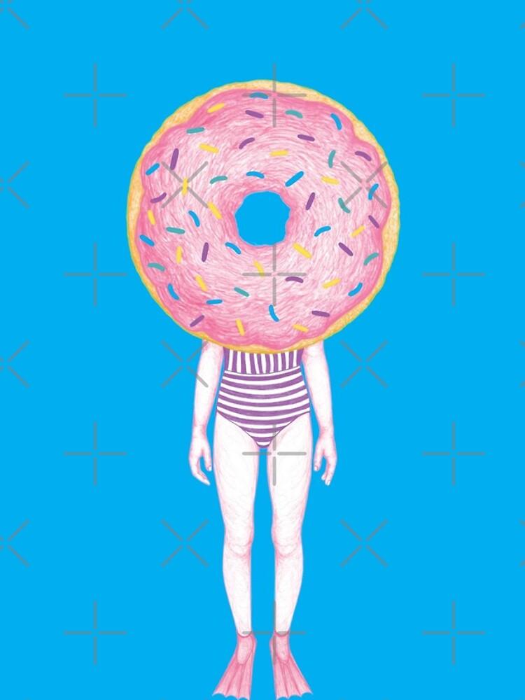 The Summer Treats : Pink Doughnut by Ranggasme