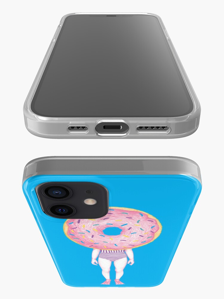 Alternate view of The Summer Treats : Pink Doughnut iPhone Case & Cover
