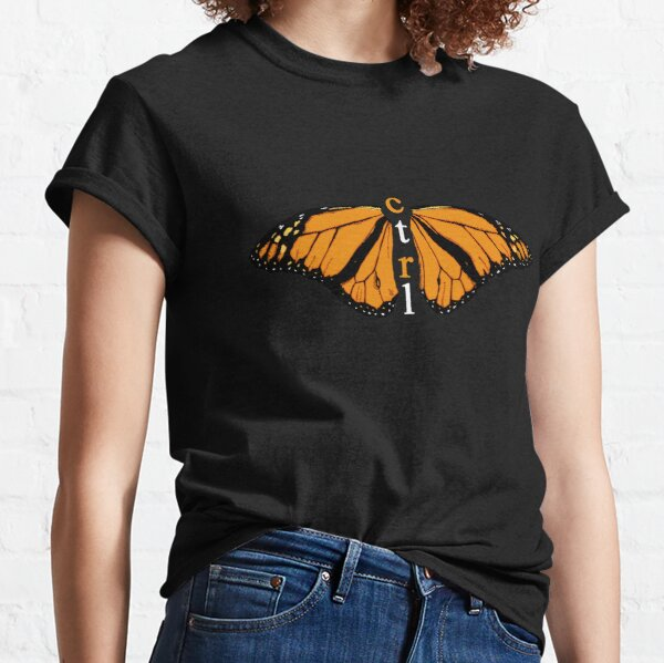 CTRL SCHMETTERLING Classic T-Shirt