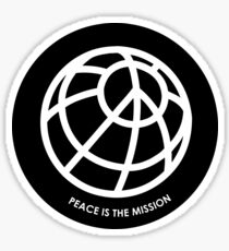 pce is the mission Sticker