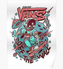 Alien Vans Poster