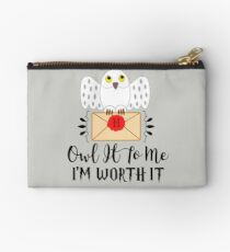 Owl It To Me I'm Worth It Studio Pouch