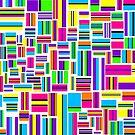 Licorice Allsorts V [iPad / Phone cases / Prints / Clothing / Decor] by Didi Bingham