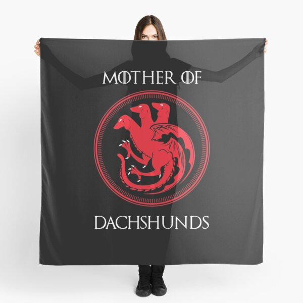 Mother of Dachshund Scarf