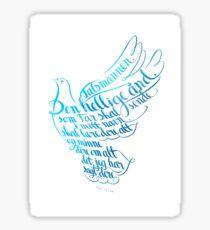 Talsmannen Den hellige ånd Sticker