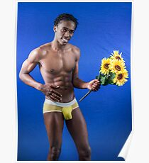 Sunflower Sexy Poster