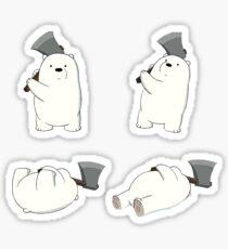 ICE BEAR - we bare bears Sticker