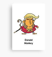 Donald Monkey Canvas Print